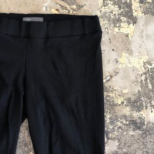 Vince Black Cotton Leggings